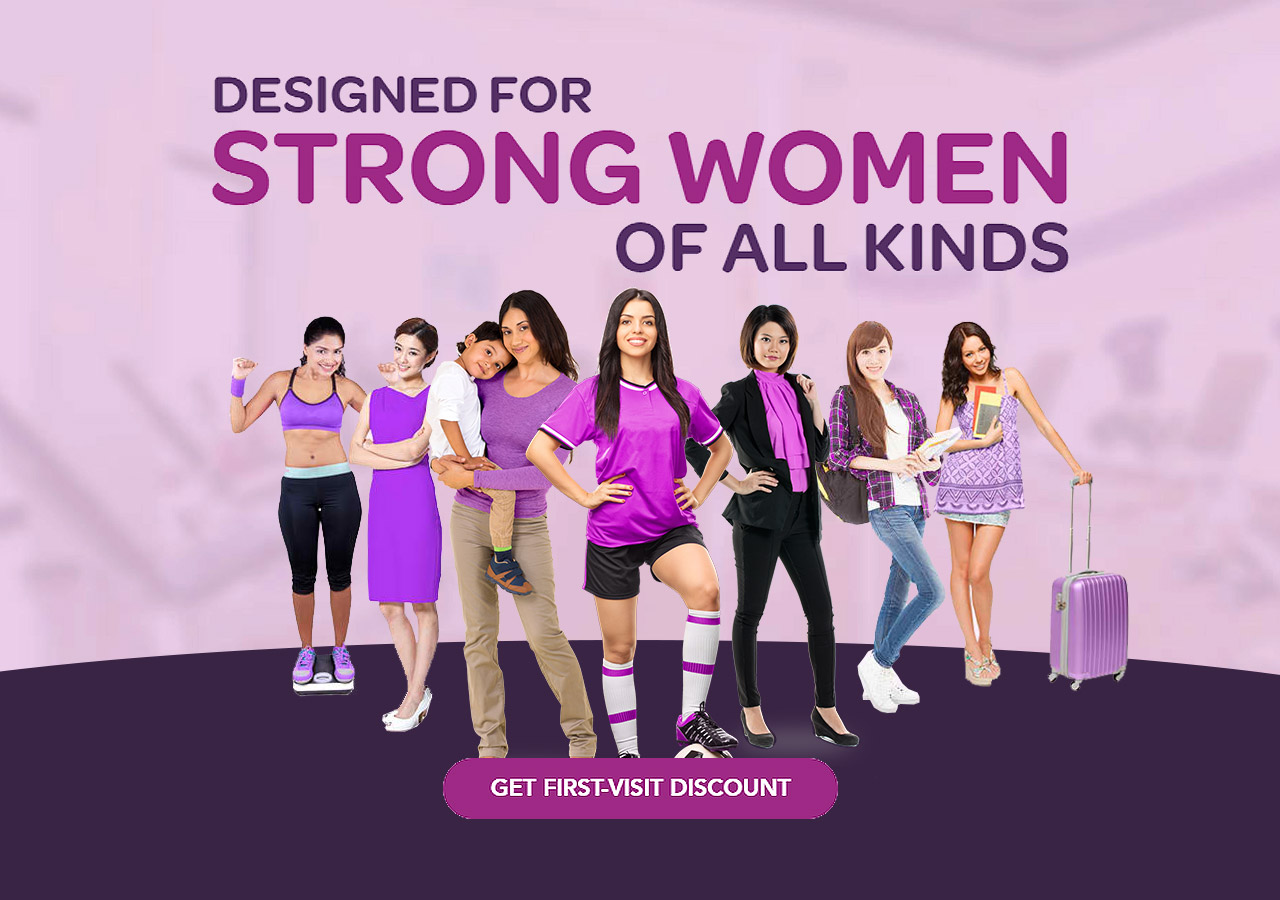 Designed for strong women of all kinds